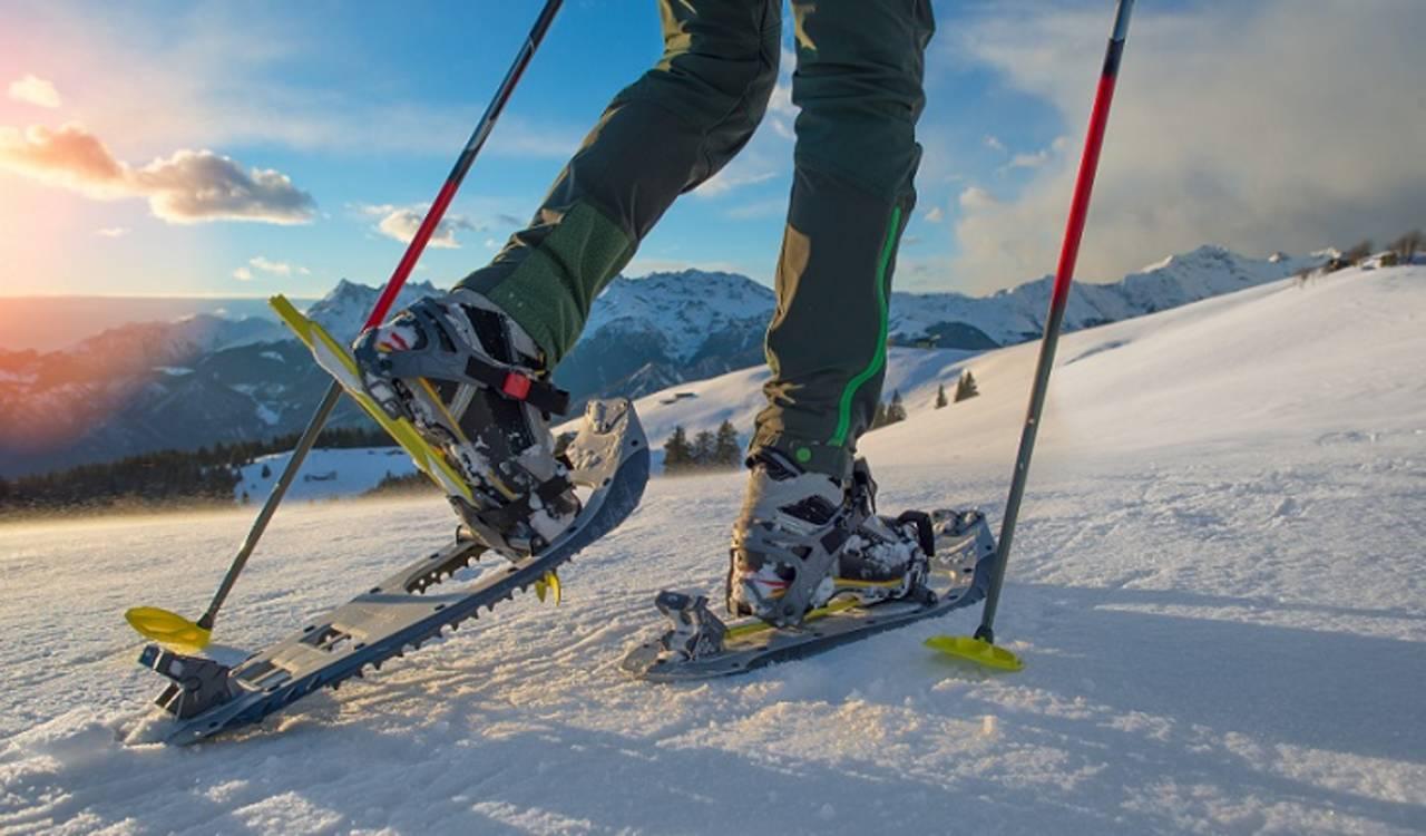 Snow shoe trip