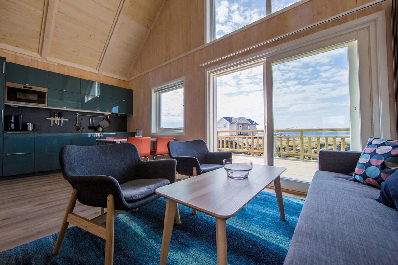 Modern scandinavian style interior.