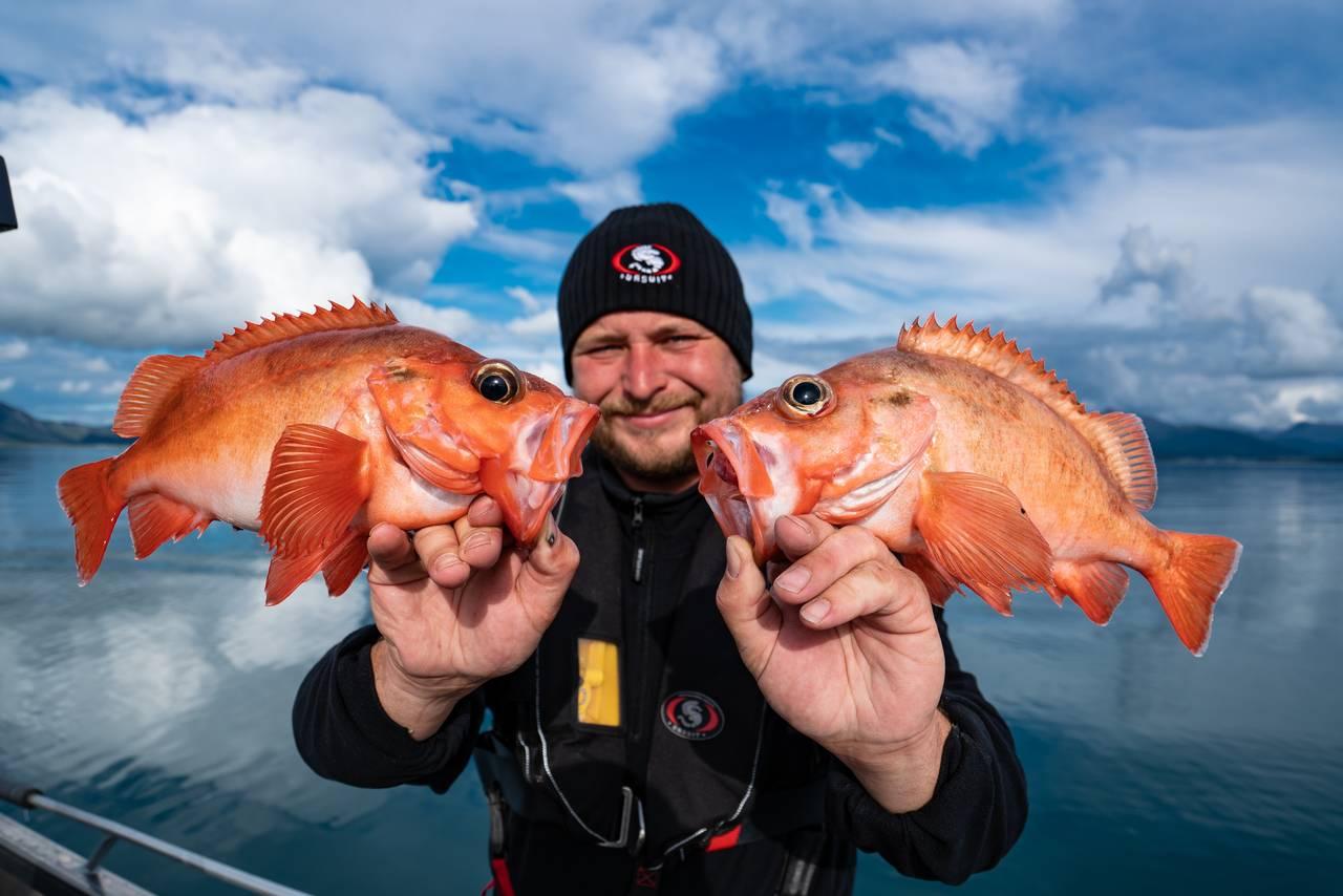 Rorbu med båt / Deep sea fishing with sea lodge